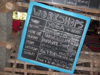 sadhana forest workshops